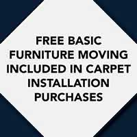 Free Basic Furniture Moving included in Carpet Installation at Albertson's Abbey Carpet & Floor in Benicia